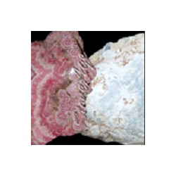 Angelite and Rhodochrosite